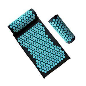 Acupressuur mat  - inclusief hoofdkussen - yoga mat - Massage mat - drukpunten spijkermat
