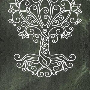 Aqua-licious Yogamat Tree of Life