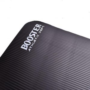 Booster Athletic Dept - Yogamat - Zwart - Fitness mat - Sport mat - Work out Mat - Inclusief Draagtas & Draagriem - 183 x 61