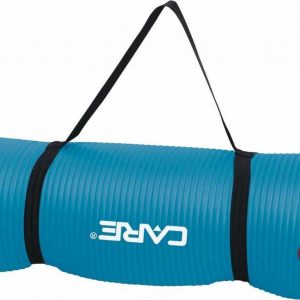 Care Fitness Yogamat Blauw - 183 X 61 X 1