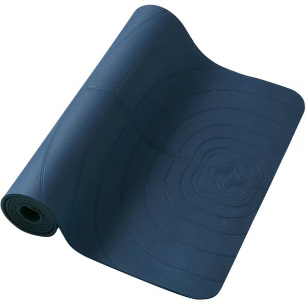 DOMYOS Yogamat Light 5 mm marineblauw
