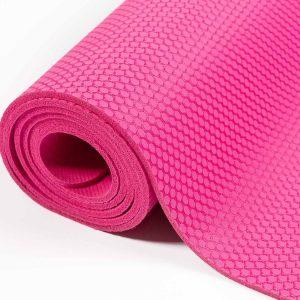 #DoYourYoga Yogamat van natuurlijk rubber - Rubin - duurzaam en slijtvast - 183 x 61 x 0