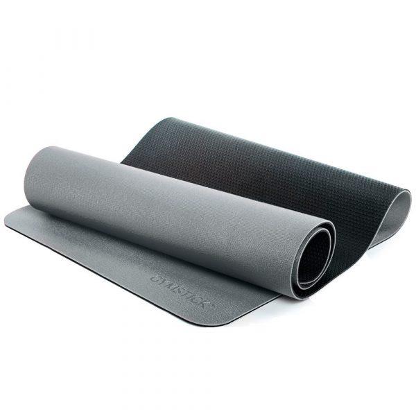 Gymstick Pro Yoga Mat - Met Online Trainingsvideo's - Grey/Black