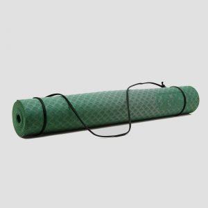 Inq yogamat 3 millimeter tpe groen