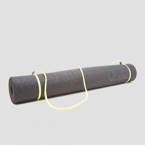 Inq yogamat 3 millimeter tpe zwart
