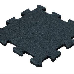 Rubber Tegel - Middenstuk - Puzzelsysteem - 50 x 50 x 2