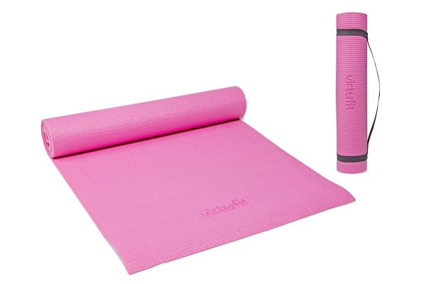 VirtuFit Yogamat Met Draagkoord - 183 x 61 x 0.3 cm - Roze