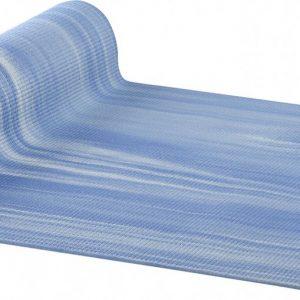 AKO Yin-Yang Deluxe Yogamat - 6 mm dik - 61x183cm - Blauw/Wit