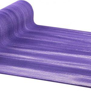 AKO Yin-Yang Deluxe Yogamat - 6 mm dik - 61x183cm - Paars/Wit