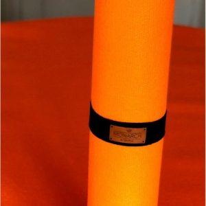 AKO Yin-Yang Studio Yogamat - 4,5 mm dik - 60x183cm - Zwart