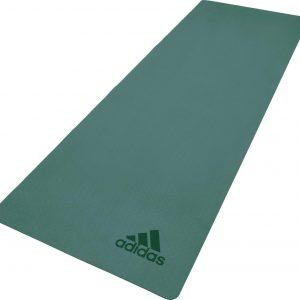 Adidas Premium yoga mat 5 mm raw green