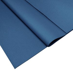 Balans yoga mat Donker blauw - 185 x 66 x 0,4 cm - Yoga Topper