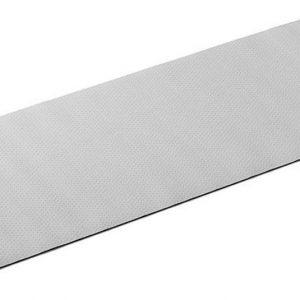 Basic-Fit Yogamat - 183 x 61 x 0,4 cm - Elastomeer - Grijs - Antislip - Met draagtas
