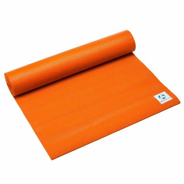 #DoYourYoga Anti-slip ECO PVC Yogamat - Annapurna Comfort - goede grip, is duurzaam en slijtvast - 183 x 61 x 0,5 cm - oranje