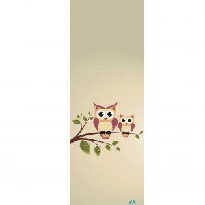 #DoYourYoga Yogamat - Yoganidra - yoga- en gymnastiekmat voor yoga beginners - 183 x 61 x 0,4cm - Uilen op Tak