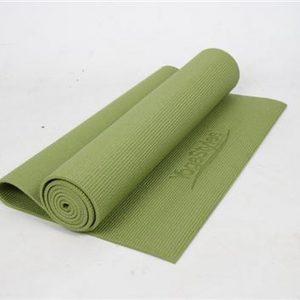 EKO-Standaard Yogamat - Groen - mat voor yoga en fitness - 6mm dik