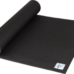 Ecoyogi Yogamat - Zwart - 200 x 61 x 0.6 cm
