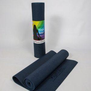 Eko Standaard Yogamat - Indigo - Mat voor yoga en Fitness - 6mm dik