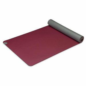Gaiam Earth Lovers Recyclebare Yoga Mat - Grijs/ Rood - 172 X 61 X 0.6 Cm