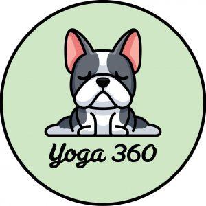 Ronde yogamat Yoga 360