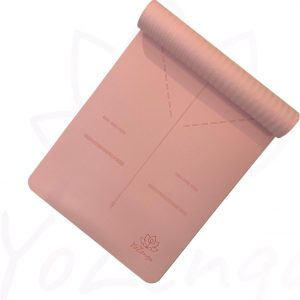 YoZenga Sportmat / Fitnessmat Ohm Salmon pink