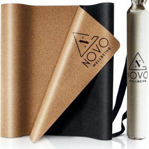 Yoga Mat|Anti Slip met Tas|Kurk & Natuurlijk Rubber|Eco|183x61|2mm