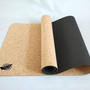 Yoga mat met kurk, lig nu heel natuurlijk