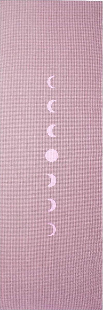 Yogamat sticky extra dik moon lavendelpaars - Lotus - 6 mm