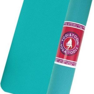 Yogi & Yogini yogamat turquoise - 63x185x0.5 cm - 1250 g