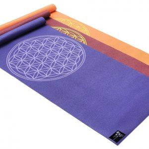 Yogistar Yogamat basic Flower of Life violet