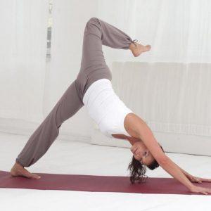 Yogistar Yogamat basic OM choco brown