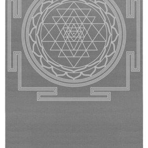 Yogistar Yogamat basic Sri Yantra graphite