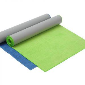 Yogistar Yogamat hot yoga green