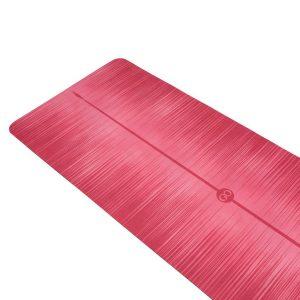 ZENAGOY MiFlow Yoga Mat Roze van Rubber met Microvezel Toplaag   Eco-Vriendelijk   180 x 66cm x 3.5mm