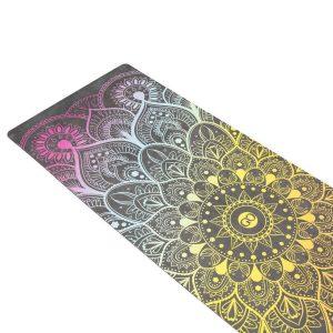 ZENAGOY Yoga Mat - Arco Iris - met Draagband - 180 x 61 x 0,35cm