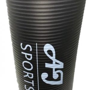 AJ-Sports Yoga mat - Fitness mat - Sport mat - Trainingsmat - Anti slip - Inclusief GRATIS draagtas - Zwart