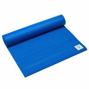 #DoYourYoga Anti-slip ECO PVC Yogamat - Annapurna Comfort - goede grip, is duurzaam en slijtvast - 183 x 61 x 0,5 cm - blauw