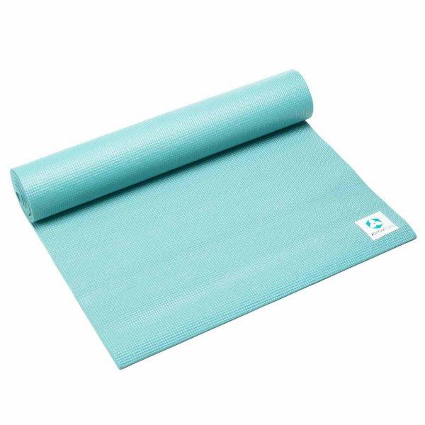 #DoYourYoga Anti-slip ECO PVC Yogamat - Annapurna Comfort - goede grip, is duurzaam en slijtvast - 183 x 61 x 0,5 cm - turquoise