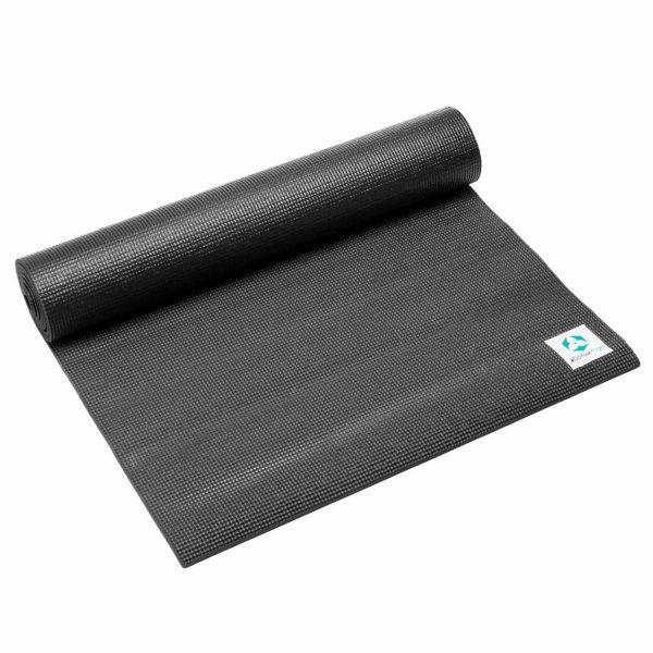 #DoYourYoga Anti-slip ECO PVC Yogamat - Annapurna Comfort - goede grip, is duurzaam en slijtvast - 183 x 61 x 0,5 cm - zwart