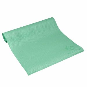 #DoYourYoga Yogamat met Memory schuim van ECO PVC - Kirana - de mat is duurzaam en slijtvast - 183 x 61 x 0,4 cm - Munt