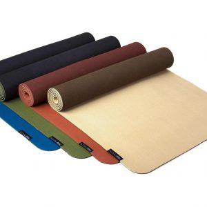 Yogistar Yogamat pure eco red-bordeaux