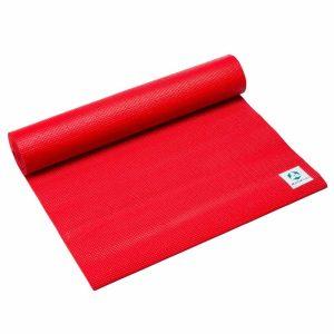 #DoYourYoga Anti-slip ECO PVC Yogamat - Annapurna Comfort - goede grip, is duurzaam en slijtvast - 183 x 61 x 0,5 cm - rood