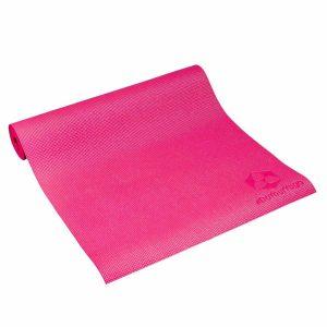 #DoYourYoga Yogamat met Memory schuim van ECO PVC - Kirana - de mat is duurzaam en slijtvast - 183 x 61 x 0,4 cm - Framboos