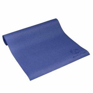 #DoYourYoga Yogamat met Memory schuim van ECO PVC - Kirana - de mat is duurzaam en slijtvast - 183 x 61 x 0,4 cm - Marine blauw