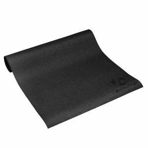 #DoYourYoga Yogamat met Memory schuim van ECO PVC - Kirana - de mat is duurzaam en slijtvast - 183 x 61 x 0,4 cm - Nachtzwart