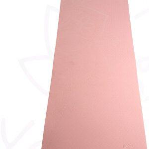 YoZenga Premium yogamat   sportmat   Fitnessmat   extra breed   extra dik   TPE   Mandala Salmon pink/Navy blue   inclusief gratis draagriem