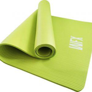 "#DoYourFitness - XXL Fitness Mat - ""Ashanti"" - 190x100x1.0cm - groen"