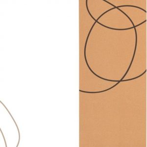 Yoga Mat - Yoga Mat Kurk - Fitness Mat - Sportmat - Yoga Mat Anti Slip - Yoga Mat Extra Dik - body.mind.soul design
