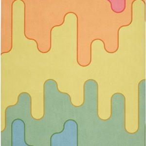 yogigo flow yoga mat van rubber en microfiber colorful candy | Eco-Vriendelijk |178cm x 61cm x 3.5mm