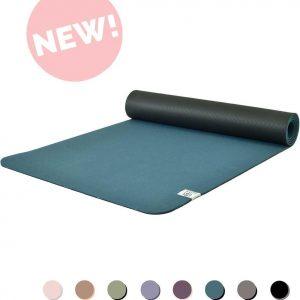 Eco Yogamat | Superior TPE - 5mm | Brilliant Blue - Blauw | Veerkrachtig & Gripvast | Love Generation